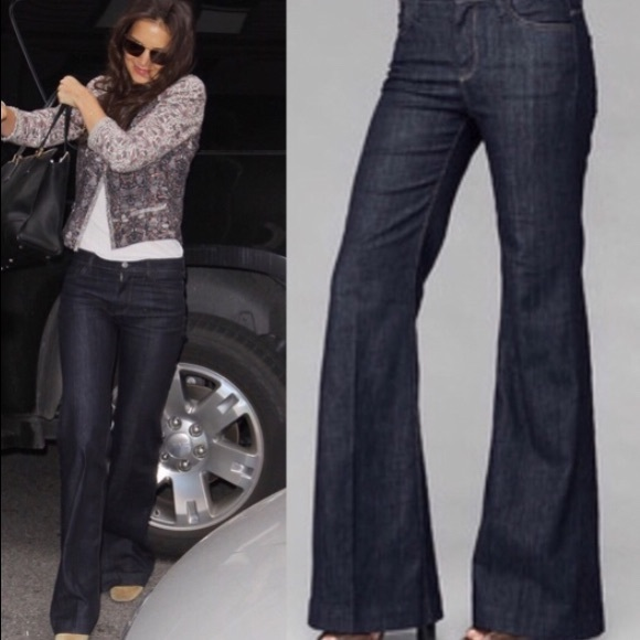 low cost new & pre-owned designer no sale tax 7 for All Mankind Ginger high rise flare jeans